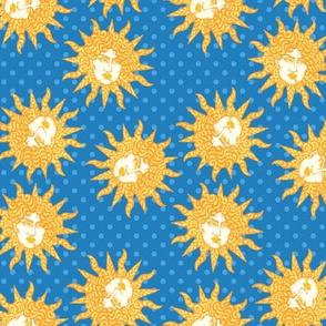 Solstice in Blue