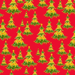 Merry Christmas Trees