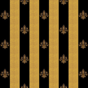 gold_and_black_fleur_de_lis_2_inch_wide_dblspc offset