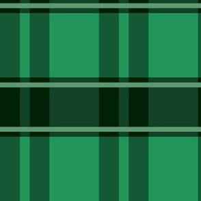 Christmas Tartan School Idol Green