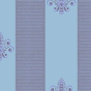 french_lavender__fleur_de_lis_2_inch_stripe