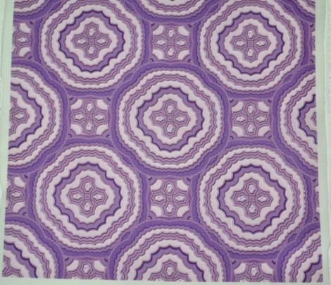 Lavender Scallops