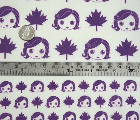 White base purple tiny - BlytheCon Vancouver 2015