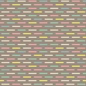 Modern Scandinavian Dash Multi Pastel