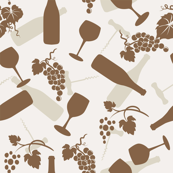 Wine Glasses & Grapes