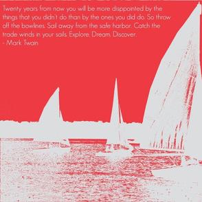 Le Sail Boat-ed
