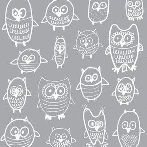 lots of owls