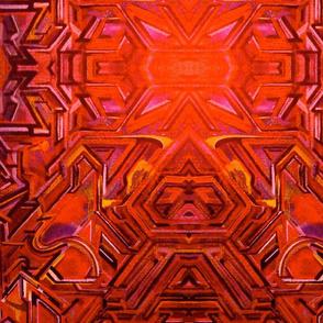 Tiki Fire Gods Graffiti