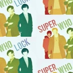 SuperWhoLock Rainbow