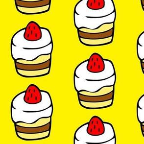 Cupcake in Yellow