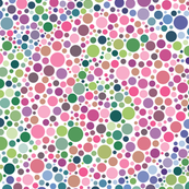 overlapping Ishihara colorblindness tests
