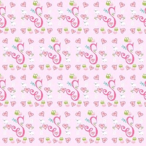Pinky Initial S - small