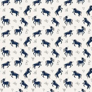 Unicorn Love - Champagne background (Mini Version) by Andrea Lauren
