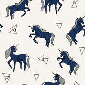Unicorn Love - Champagne background.