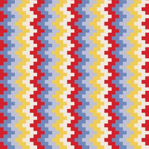 8 bit zigzags (combo 2)