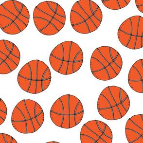 Basketballs white
