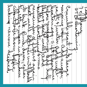 Grandmother's Handwritten Recipes