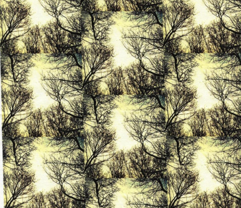 Winter Trees Toile