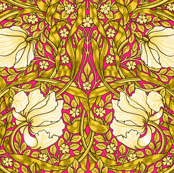 William Morris ~ Pimpernel ~ Sunshine on Courtesan