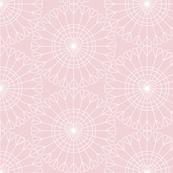 Open Your Heart* (Capote) || hearts Ferris wheel valentine valentines day love geometric mandala wire pastel