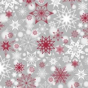Merlot Snowscape