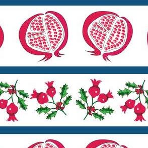 Pomegranite Stripes