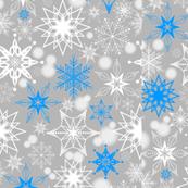 Sapphire Snowscape