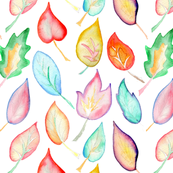 watercolour_leaves_1