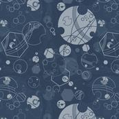 Fabric of Rassilon Blue-Grey 1