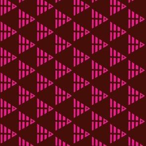 Fish Pyramids Pink