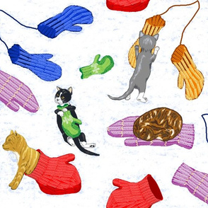 Four_kittens_and_their_mittens_white_snow_2a
