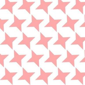 pale pink star