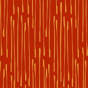 Christmas Modern Drops / Scarlet