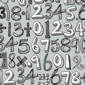 math doodle silver