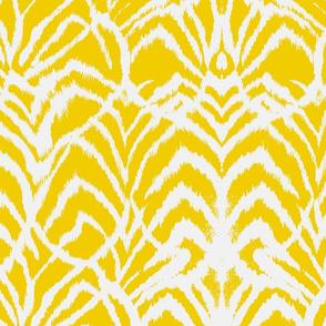 Wild Ikat Yellow