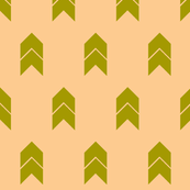 Peachy chevron small