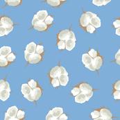 Cotton Blossom Toss in Carolina Blue