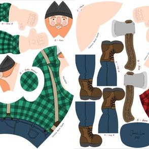 Ziggy Sawdust the Lumberjack - Both Colours