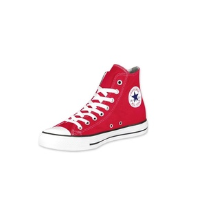 red converse shoe