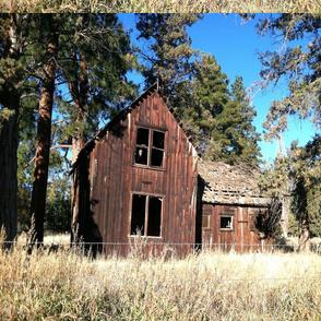 "Old barn 16 x 24"" FQ canvas print"