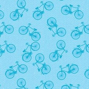 Tiny Scattered Bicycles