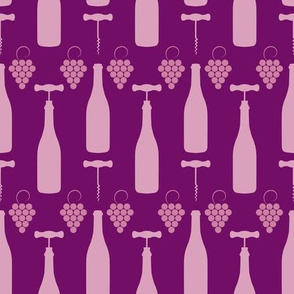 Rosé Wine Bottles & Corkscrews