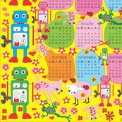 2015 calendar apron
