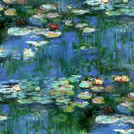 Claude Monet ~Water Lilies ~1916 ~ Medium