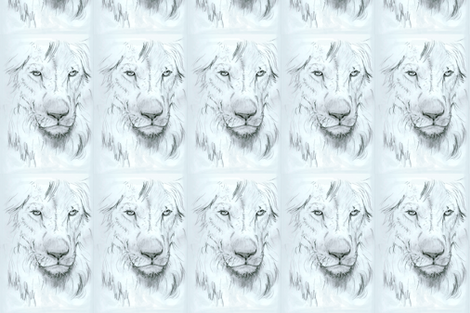 Custom Sized Lion Portrait