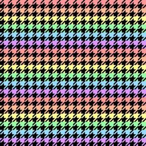 houndstooth_pastel_rainbow_1inch_black