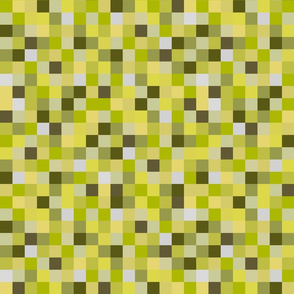 8-Bit Pixel Blocks - Yellow