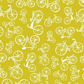 bicycles in a lime land