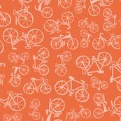 bikes in a peach land