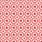 Ladybug Garden - Red